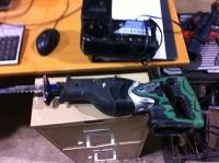 reciprocating saw cordless Hitachi (sawzall)