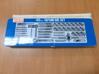 40 piece Tap and Die set - standard (NC & NF NPT)