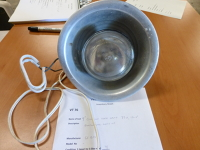 "9"" clip-on work lamp"