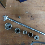 Socket wrench and sockets