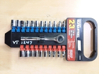 1/4 Socket Set; with wrench