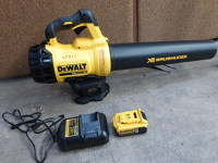 Cordless leaf blower (manual available)