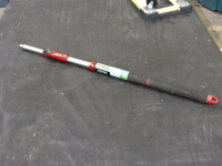 Extendable paint pole