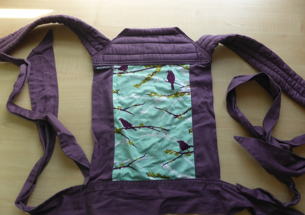 East London Sling Library Babyhawk Meh Dai Echino Birds Purple