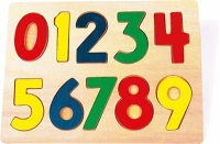 0-9 Wooden Puzzle