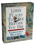 1,000 Places To See Before You Die puzzle - Gorgeous Beaches