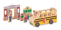 Whittle World School Bus Set