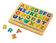 Alphabet Sound Wooden Puzzle