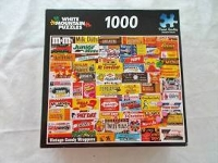 Vintage Candy Wrapper Puzzle