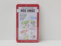 Kidz Cardz 4 Jumbo Sized Card Games