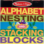 Alphabet Stacking Blocks