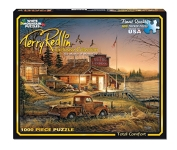 White Mountain Puzzles Total Comfort - 1000 Piece Jigsaw Puzzle