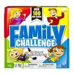 Family Challenge: The Game of Frantic Family Fun