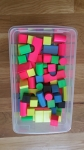 83pc Block Set - Fluorescent