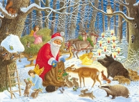 100pc XXL Puzzle - Christmas in the Forest