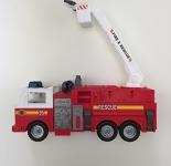 Big Singular Fire Truck