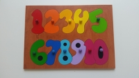 1-10 Wooden Counting Puzzle
