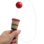Wooden Ball in Cup Skill Toy