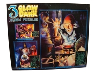 3 Glow in the Dark Jigsaw Puzzles