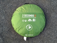 2 vteřinový stan / 2 second tent