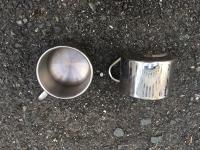Nerezové hrníčky / Stainless Steel Mugs