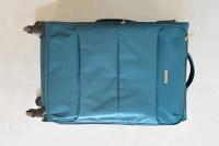 Modrozelený kufr / Blue-green suitcase