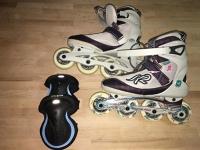 Kolečkové brusle dámské vel. 38 / In-line skates for ladies, size 38
