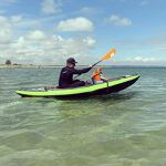"""ITIWIT green Inflatable Kayak (2 man) """"KANYE"""""""