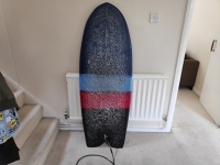 5' 2 fish surfboard