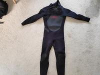 Mens L excel winter wetsuit