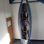 ITIWIT Inflatable Kayak, blue (2 man)