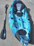 Enigma Kayaks single sit on top fishing kayak