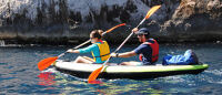 """ITIWIT Inflatable Kayak Green (2 man) """"CORAL"""""""