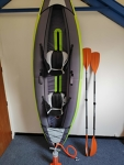 """ITIWIT Inflatable Kayak, green (2 man) """"KRISTOFF"""""""