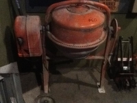 Cement Mixer - 3-1/2 cu. ft.