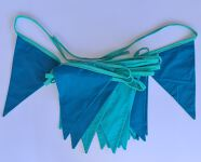 Bunting 7m - Blue/Aqua Reversible