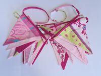 Bunting 7m - Light Pink & Patterns