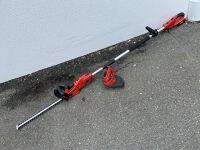 Certa Powerplus 18V Whipper Snipper / Hedge Trimmer Bundle
