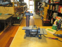 "1x30"" Mastercraft Belt & Disc Sander"