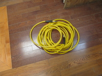 Yellow Compressor Hose