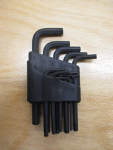 11 Piece Metric Hex Key Set