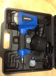 Air powered coil roofing nailer