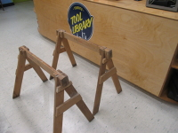 6 Piece Homemade Work Table