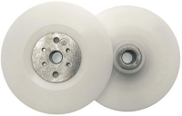 Flexible backing pad for angle grinder (122 mm)