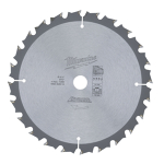 Circular saw blade for wood (250 mm, 36 teeth) - for solid wood and sheet stock (Workshop)