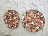 Large Decorative Plates x 2