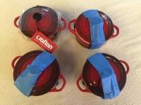 Ceramic Mini-Casserole Dish x 4