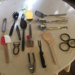 Cooking Utensils - Assorted