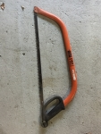 """Bahco Force Hacksaw 24"""" 607mm with spare blade"""