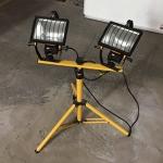 2 x 500W Work Lights on adjustable stand